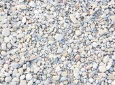 Crushed gravel — Stock Photo