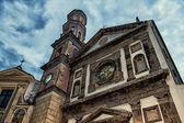 Vietri sul mare kostel santo giovanni battista — Stock fotografie
