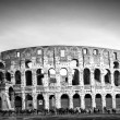 View of the Colosseum Amphitheater in Rome — Stock Photo