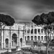View of the Colosseum Amphitheater in Rome — Stock Photo #17375667