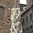 Stock Photo: Famous statue of Hercules and Cacus