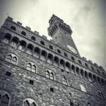 Palazzo Vecchio or Palazzo della Signoria — Stock Photo #17864317