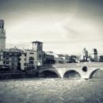 Old bridge in Verona — Stock Photo #17874481