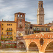 Stock Photo: Old bridge in Verona