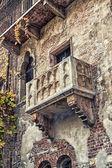 在著名的罗密欧与朱丽叶阳台 — 图库照片