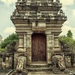 Traditional balinese temple - Pura Beji. — Stock Photo
