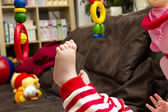 Baby foot — Stock Photo