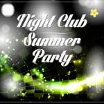 Vector disco party flyer — Stock Vector #46046599