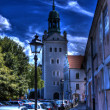 Stock Photo: Castel of pomeranidukes in szczecin hdr