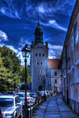 Castel of pomeranian dukes in szczecin hdr — Stock Photo