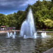 Fountain in Szczecin, hdr — Stock Photo