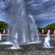 Royalty-Free Stock Photo: Fountain in Szczecin, hdr