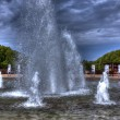 Fountain in Szczecin, hdr — Stock Photo