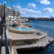 Stock Photo: View of Valletta city skyline , Malta.