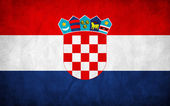 Croatian Flag — Stock Vector