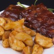 bbq ribs — Stock Photo #36987979