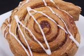 Cinnamon danish — Stock Photo