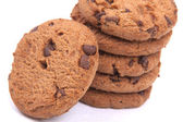 Cookies with chocolate chips — Stock Photo