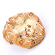Stock Photo: Vanillcream danish