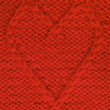 Stock Photo: Knitted heart