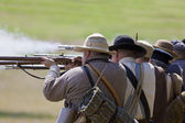 Civil War Infantry — Stock Photo