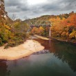 Autumn Bridge — Stock Photo #14886251