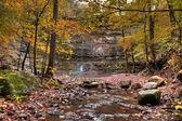 Twin Falls Arkansas — Stock Photo