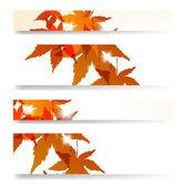 Jesień banner — Wektor stockowy