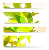 Autumn banner — Stock Vector
