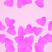 Valentines day background. — Vetor de Stock