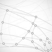 Abstraktní technologie pozadí — Stock vektor