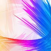 Colorido abstrato, ilustração estilo criativo. — Vetorial Stock