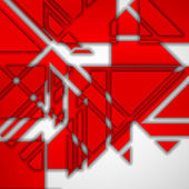 Geometric shape illustration — Stock Vector