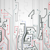 Circuit board background. — Stok Vektör