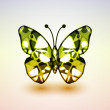 Abstract butterfly — Imagen vectorial