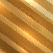 Fondo de madera creativa. — Vector de stock