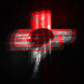 Neon brain, abstract illustration. — Stock Vector