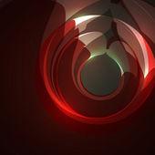 抽象的な背景が赤 — ストックベクタ