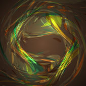 аннотация волны коричневый фон — Cтоковый вектор