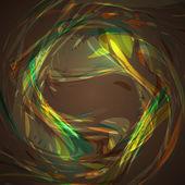 抽象棕色的波浪背景 — 图库矢量图片