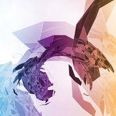 Abstract geometric illustration — Stock Vector