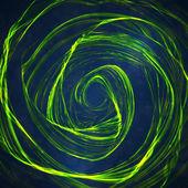Abstrakt grön våg bakgrund — Stockvektor
