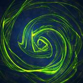 Abstrait de la vague verte — Vecteur