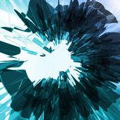 Abstrakte blauen Hintergrund — Stockvektor