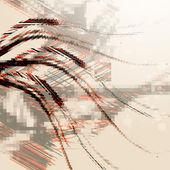 Abstract wave design-hintergrund — Stockvektor