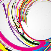 Colorful lines background — Vector de stock