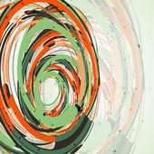 Futuristic abstract shape illustration — Stock Vector