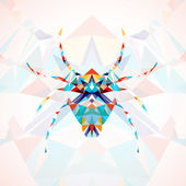 Abstract Spider illustration — Stock Vector