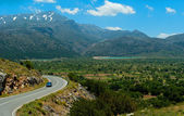 Picturesque road from Lasithi Plateau — Foto Stock