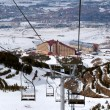 Stock Photo: Mountain ski resort Palandoken Turkey